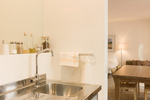 Fully Equipped Kitchenette - Make yourself at home and enjoy a home-cooked meal