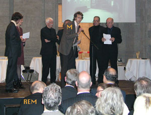 Awards ceremony :: Architecture Prize Berlin 2003