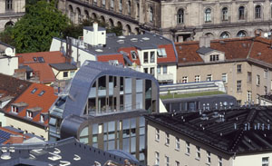 Design hotel Berlin :: Arial view